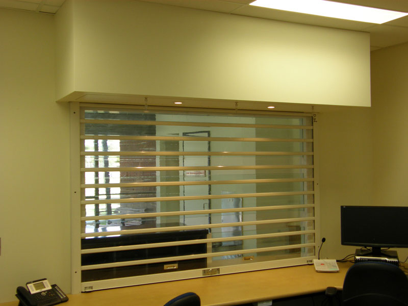 E87 Clearvision Polycarbonate Roller Doors Austral