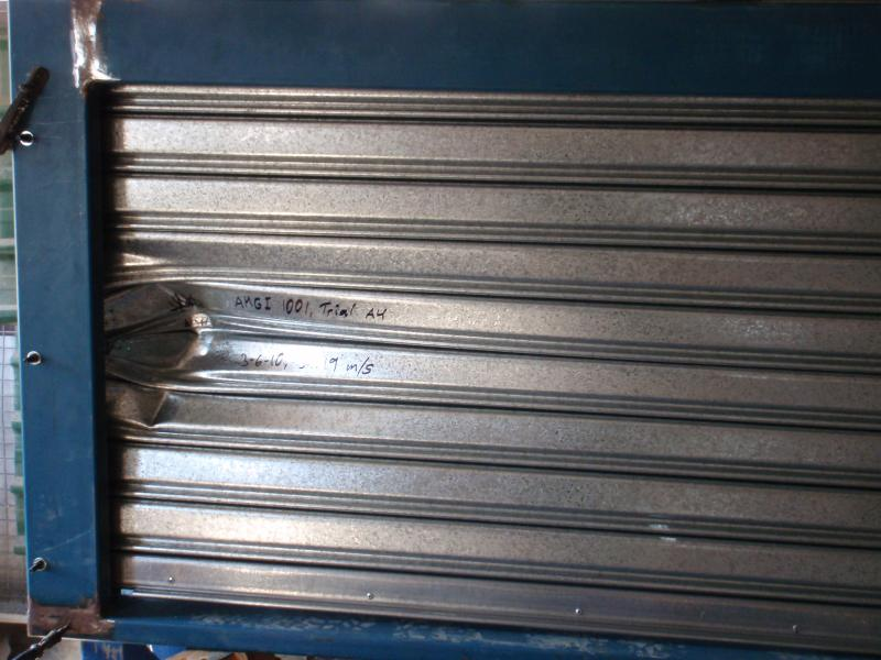cyclone-rated high security steel roller shutter