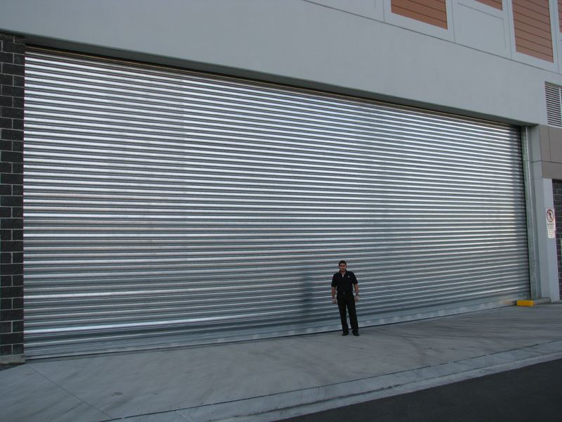 Architectural Steel Roller Shutters Austral Monsoon